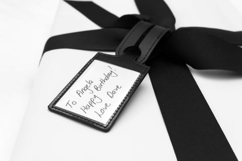 Jet&Bo Gift Wrapping Luggage Tag Gift Message