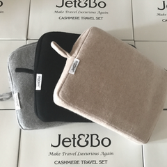 New Colors in Jet&Bo Cashmere Travel Set Range
