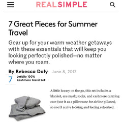 Jet&Bo featured in Real Simple Magazine
