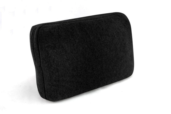 Jet&Bo 'Make Travel Luxurious Again' Black Cashmere Travel Set Case