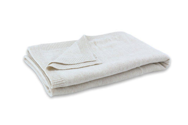 'Make Travel Luxurious Again' Cashmere Travel Set (White)-100% Cashmere Travel Sets-Jet&Bo
