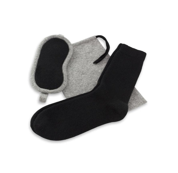 Jet&Bo 'B'air Essentials' Cashmere Travel Kit (Men's)