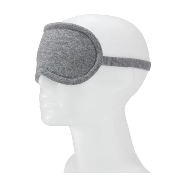 Jet&Bo 'Dream Envy' Cashmere Eye Mask (Gray)