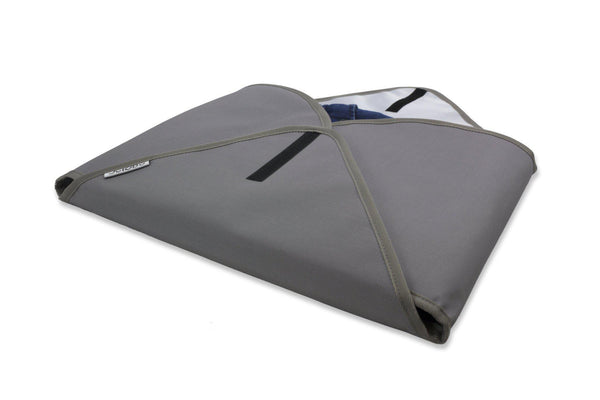 Jet&Bo 'Better Dressed Than The Rest' Travel Garment Folder (Gray) Set of Two Folded