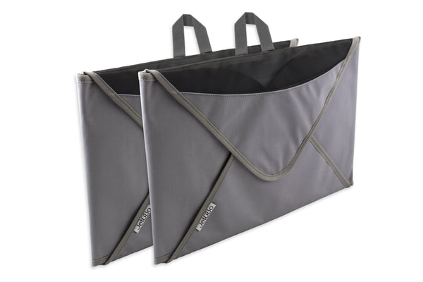 Jet&Bo 'Better Dressed Than The Rest' Travel Garment Folder (Gray) Set of Two