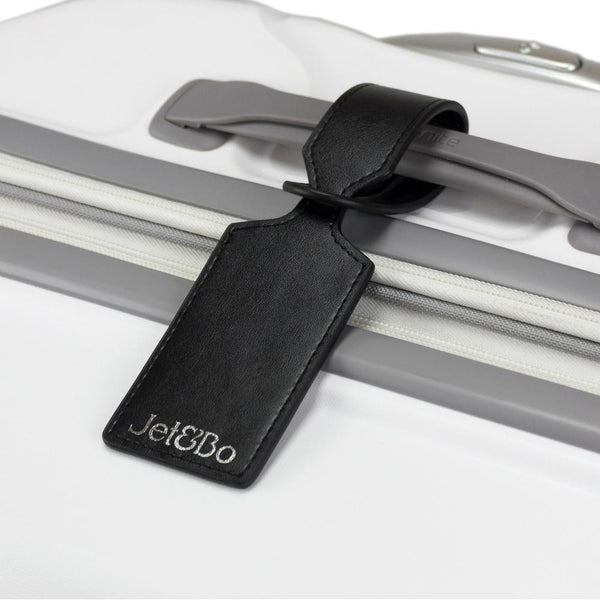 Jet&Bo 'Mine, Not Yours' Leather Luggage Tags