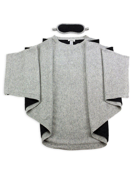 Jet&Bo 'Sky High Siesta' Cashmere Travel Set (Gray)