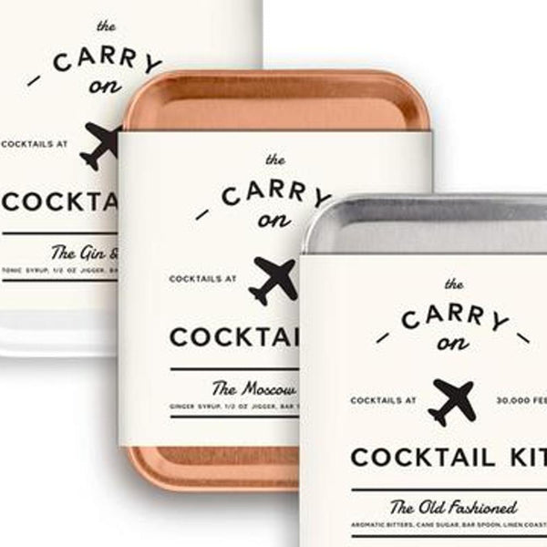 The Carry-On Cocktail Kit Travel Pack by W&P Design-Jet&Bo