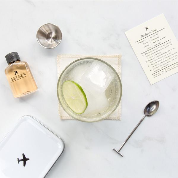 The Gin & Tonic Carry-On Cocktail Kit by W&P Design-Jet&Bo