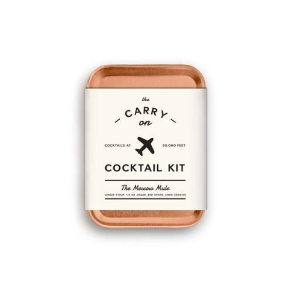 The Moscow Mule Carry-On Cocktail Kit by W&P Design-Jet&Bo