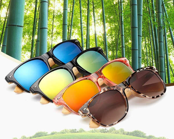2016 Fashion Wood Sunglasses For Men/Women