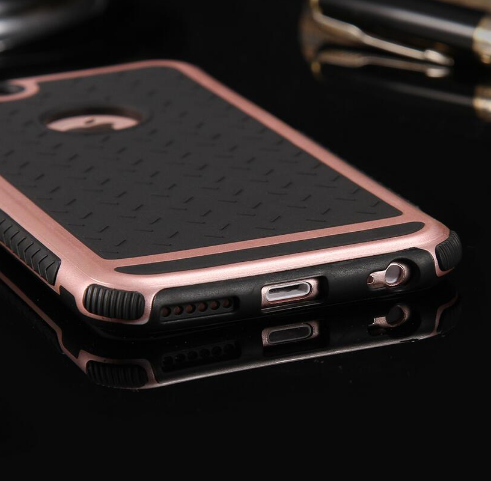 iPhone Rubber Shockproof Cover Case For iPhone 6 6S/Plus
