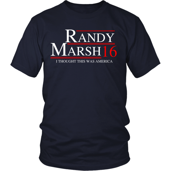 """Randy Marsh For President 2016"" T-Shirt"