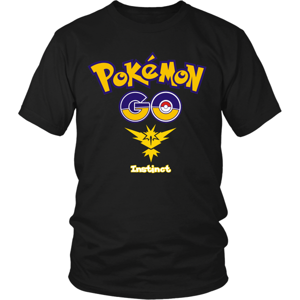 "Pokemon ""Team Instinct"" T-Shirt"