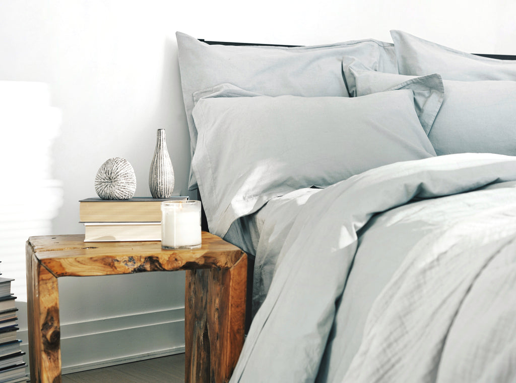 Sheets, Make It Easy, Grey, Grey Mist, bed