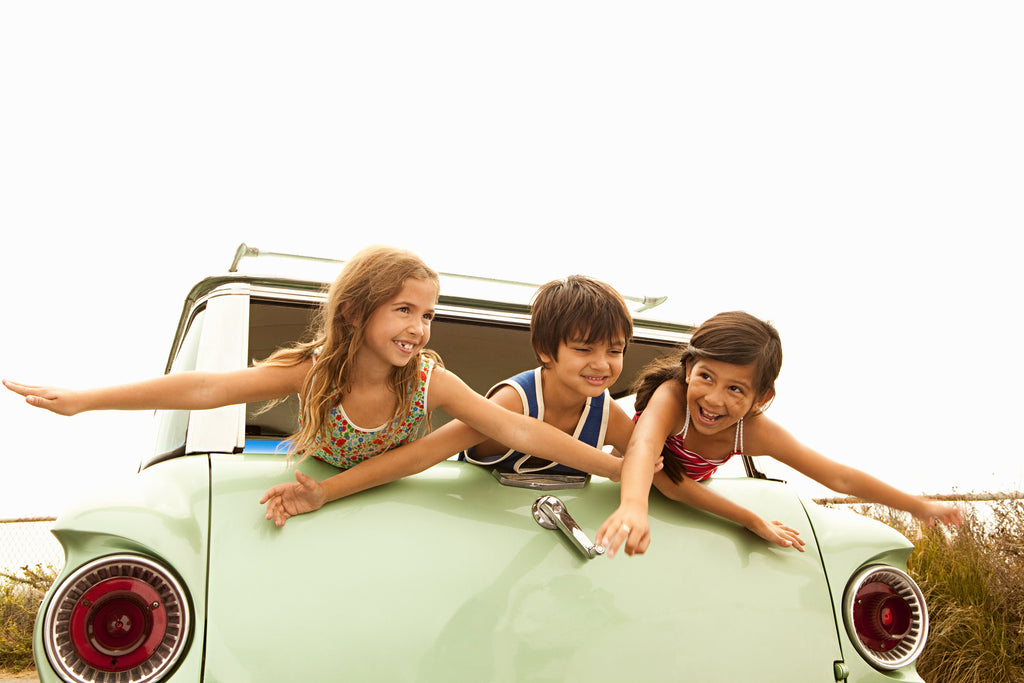 kids, station wagon, old school, fun