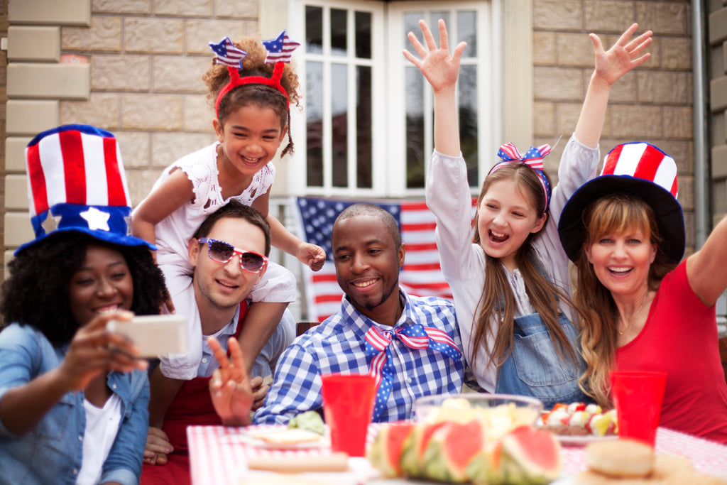 food, fun, BBQ, family, friends, July 4th, America