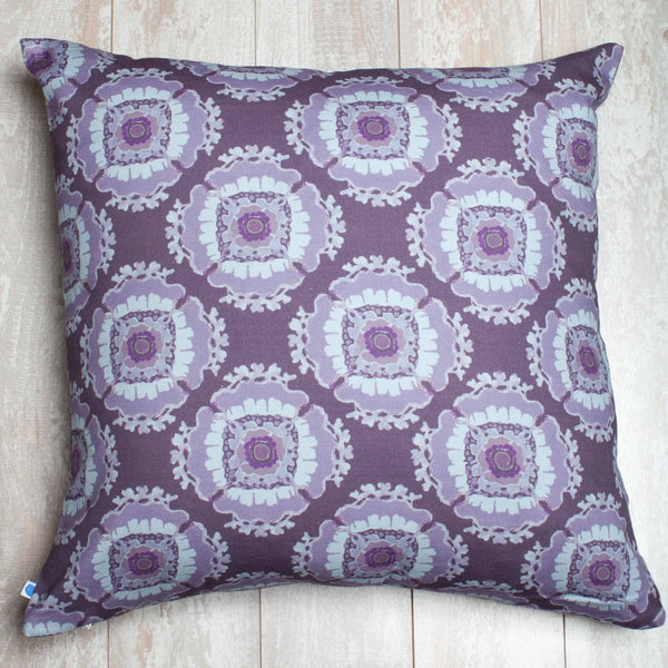 Fan Medallion Pillow Cover