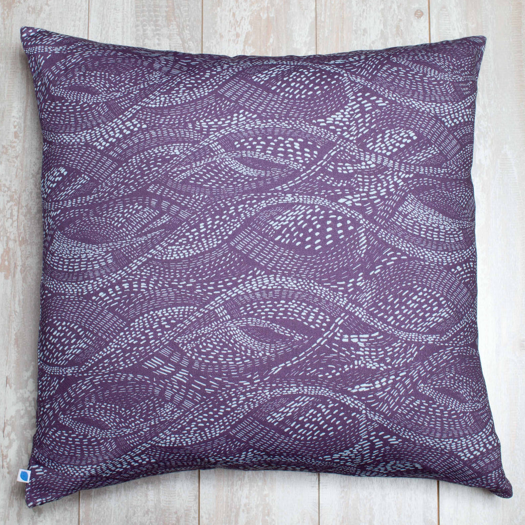 Twisted Wave Pillow Cover