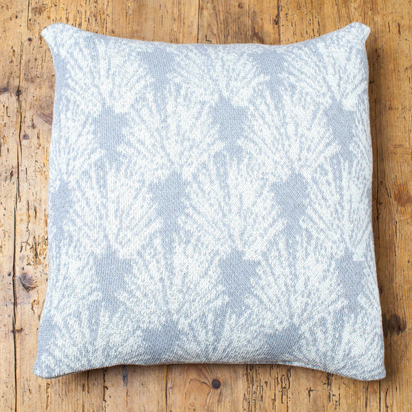Fan Shell Sparkle Pillow Cover