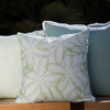Spring Sand Dollar Pillow Cover