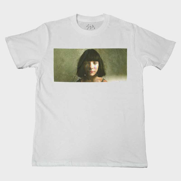 SIA MADDIE TOUR PHOTO WHITE TEE