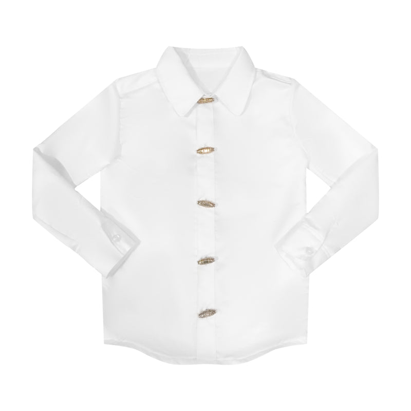 The Classic Button Down - White
