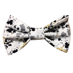 Paint Splatter Bow Tie