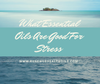 What Essential Oils are Good for Stress?