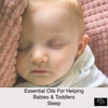 Essential Oils for Helping Toddlers and Babies Sleep