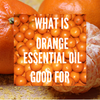 What is Orange Essential Oil Good For?