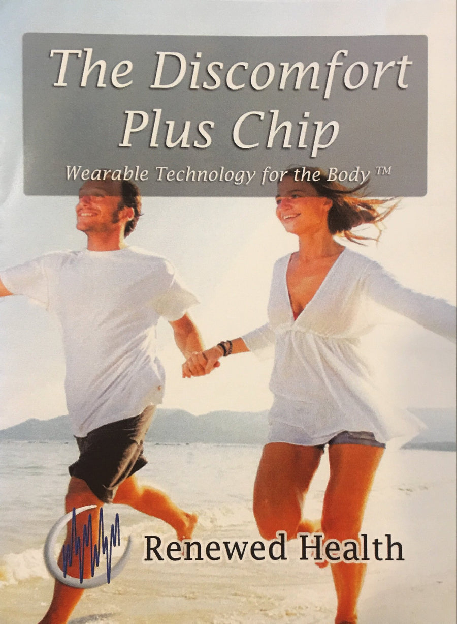 Discomfort Pain Plus Frequency Chip - Renewed Health Oils