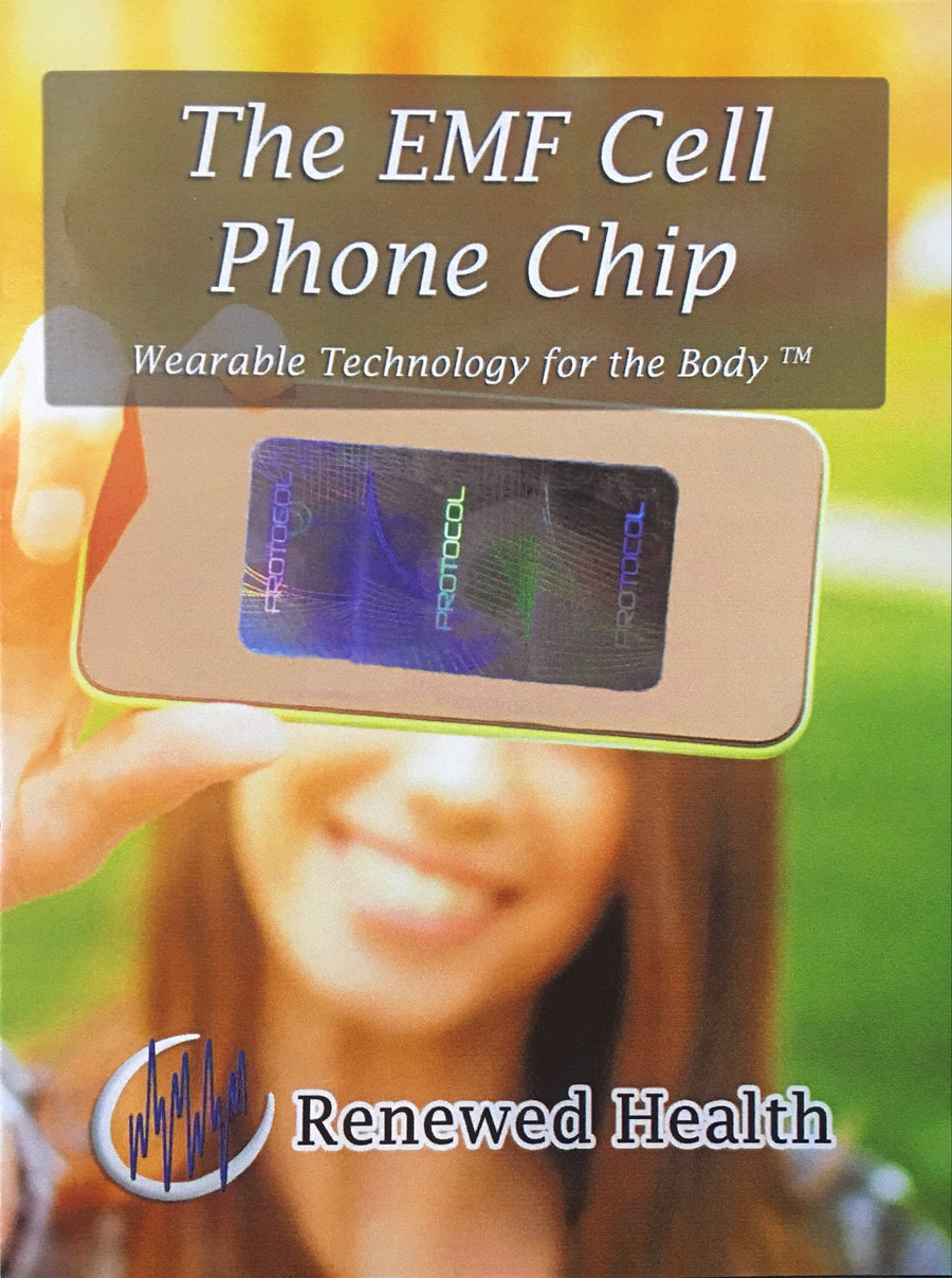 The EMF Protection Cell Phone Chip - Renewed Health Oils