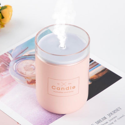Candle Essential Oil Diffuser Humidifier