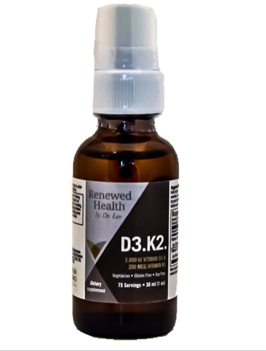 D3 K2 Spray Liquid Liposomal Formula - Renewed Health Oils