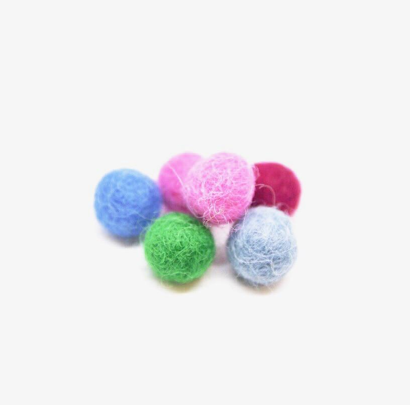 Six Wool Diffuser Balls - Renewed Health Oils