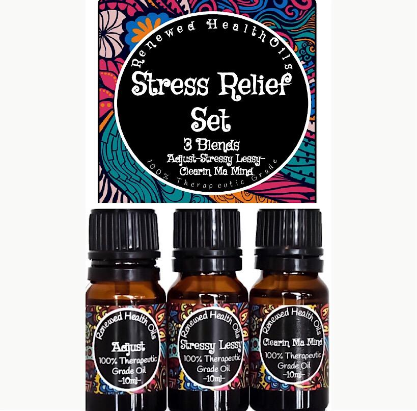 Stress Relief Essential Oil Set