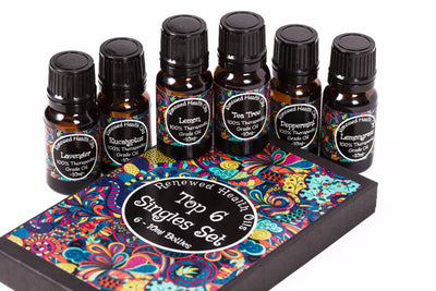 Top 6 Singles Set 10ml - Renewed Health Oils