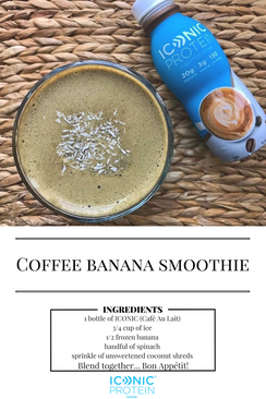 Coffee Banana Smoothie!