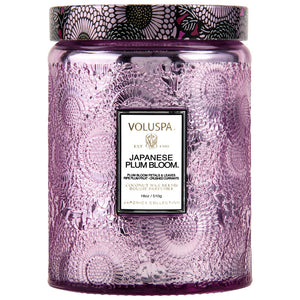 Japanese Plum Bloom Large Jar Candle