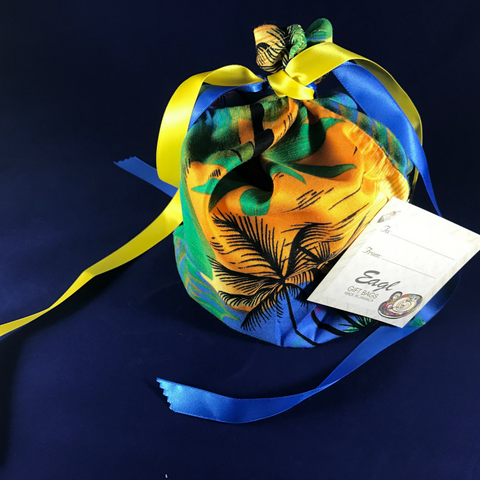 Jamaica Blue Reusable Gift Bag