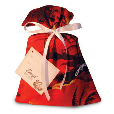 Jamaica Red Reusable Gift Bag