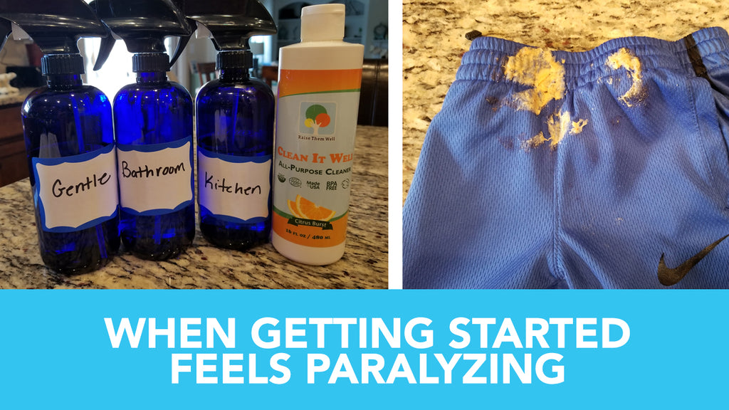 When Getting Started Feels Paralyzing