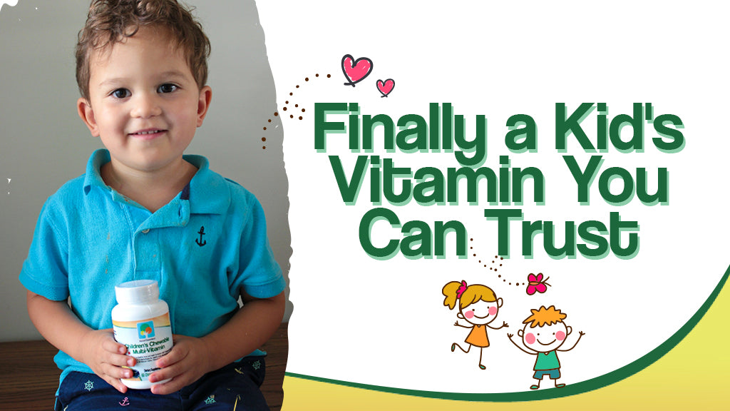 What Makes Our Children's Multivitamin Different?