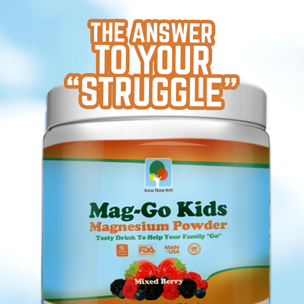 Mag Go - Kid-Safe Magnesium Drink (Mixed Berry)