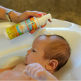 Certified ToxicFree® Foaming Baby Wash N' Shampoo.