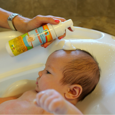 Baby Bundle: Prenatal Vitamins, Foaming Baby Wash and Shampoo, and Vitamin D and K