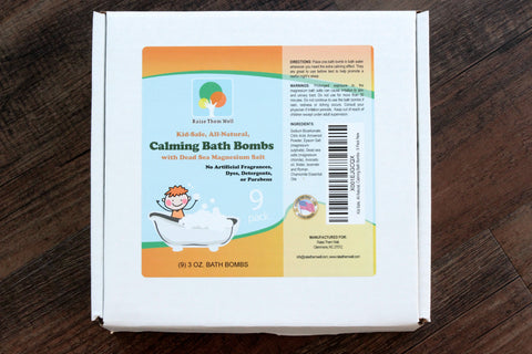 Kid-Safe Magnesium Bath Bombs