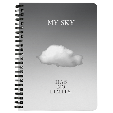 My Sky Has No Limits | Spiralbound Notebook