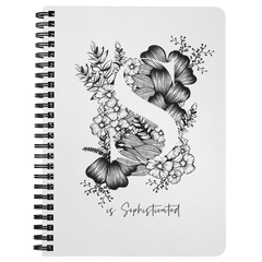 S... Is Sophisticated | Spiralbound Notebook